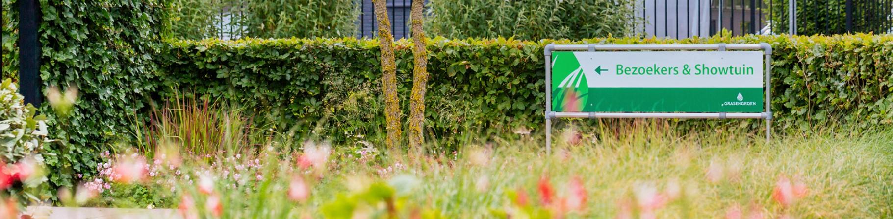 showtuin kunstgras • Gras en Groen Kunstgras