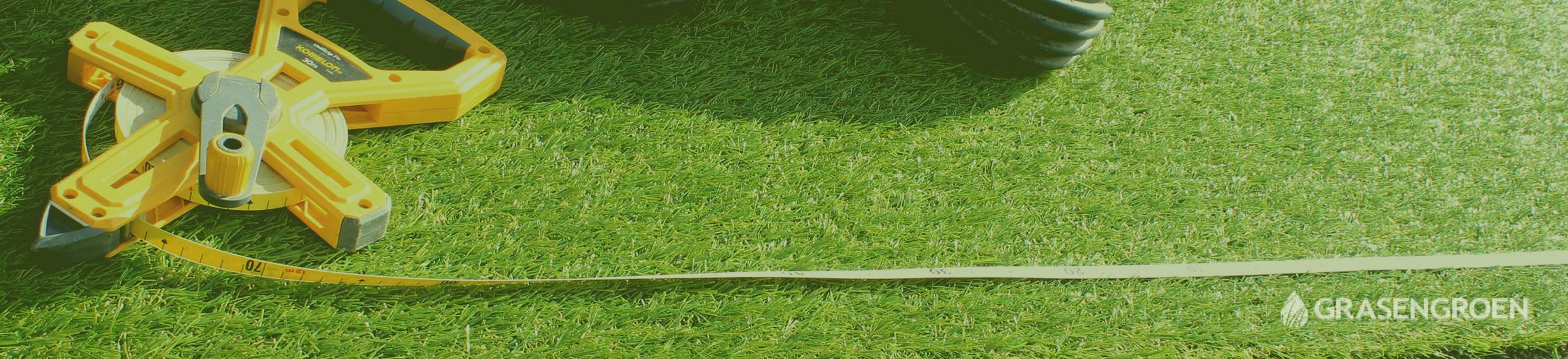 Kunstgrasinmeten • Gras en Groen Kunstgras