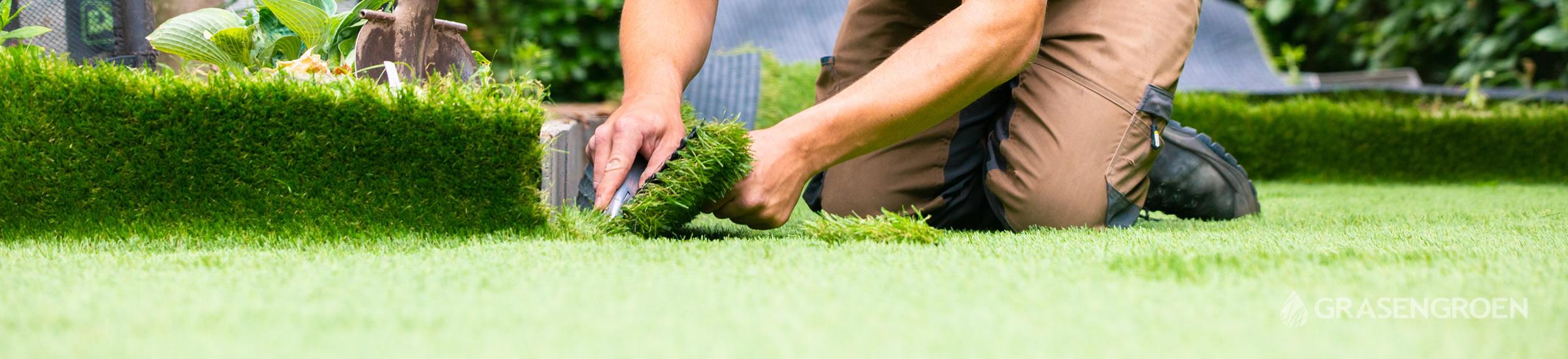 Kunstgrasleggen • Gras en Groen Kunstgras