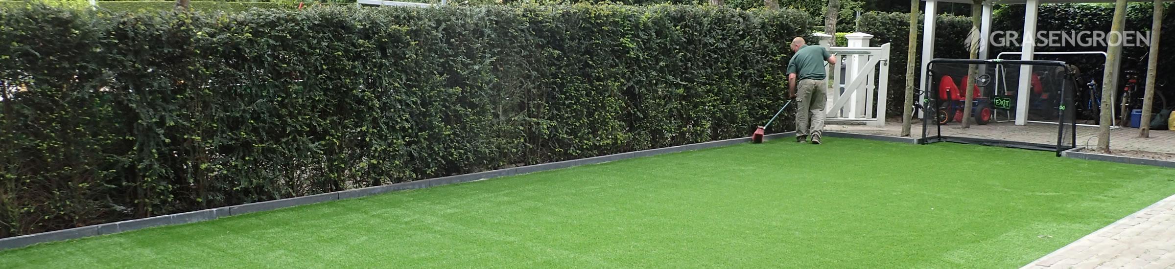 kunstgras hockeyveld • Gras en Groen Kunstgras