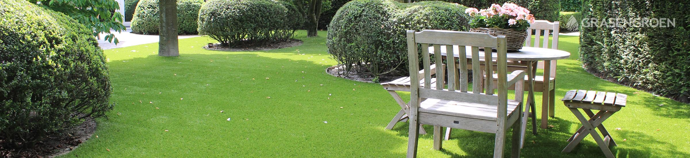 kunstgras tuin • Gras en Groen Kunstgras
