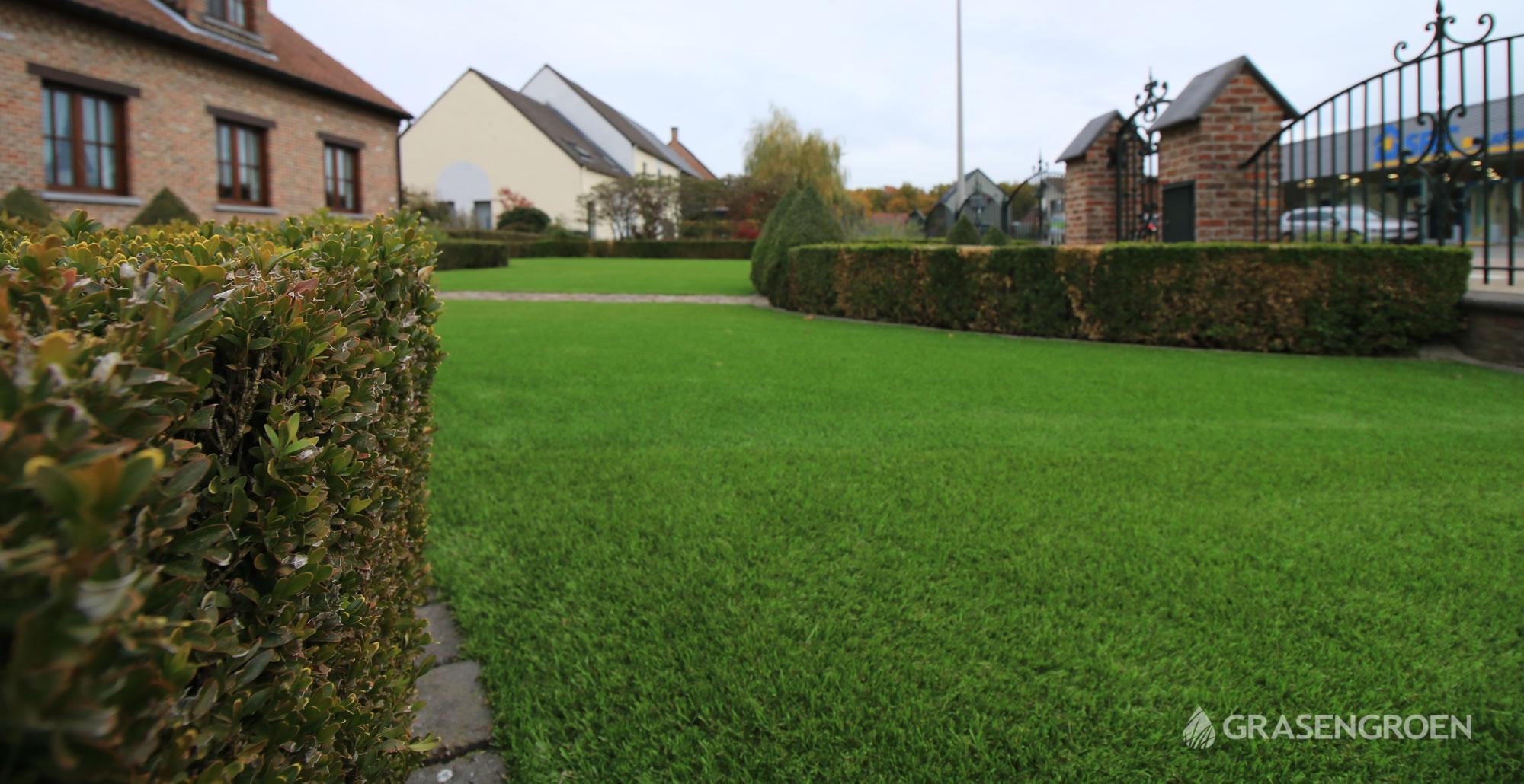 Kunstgrasleggenkermt14 • Gras en Groen Kunstgras
