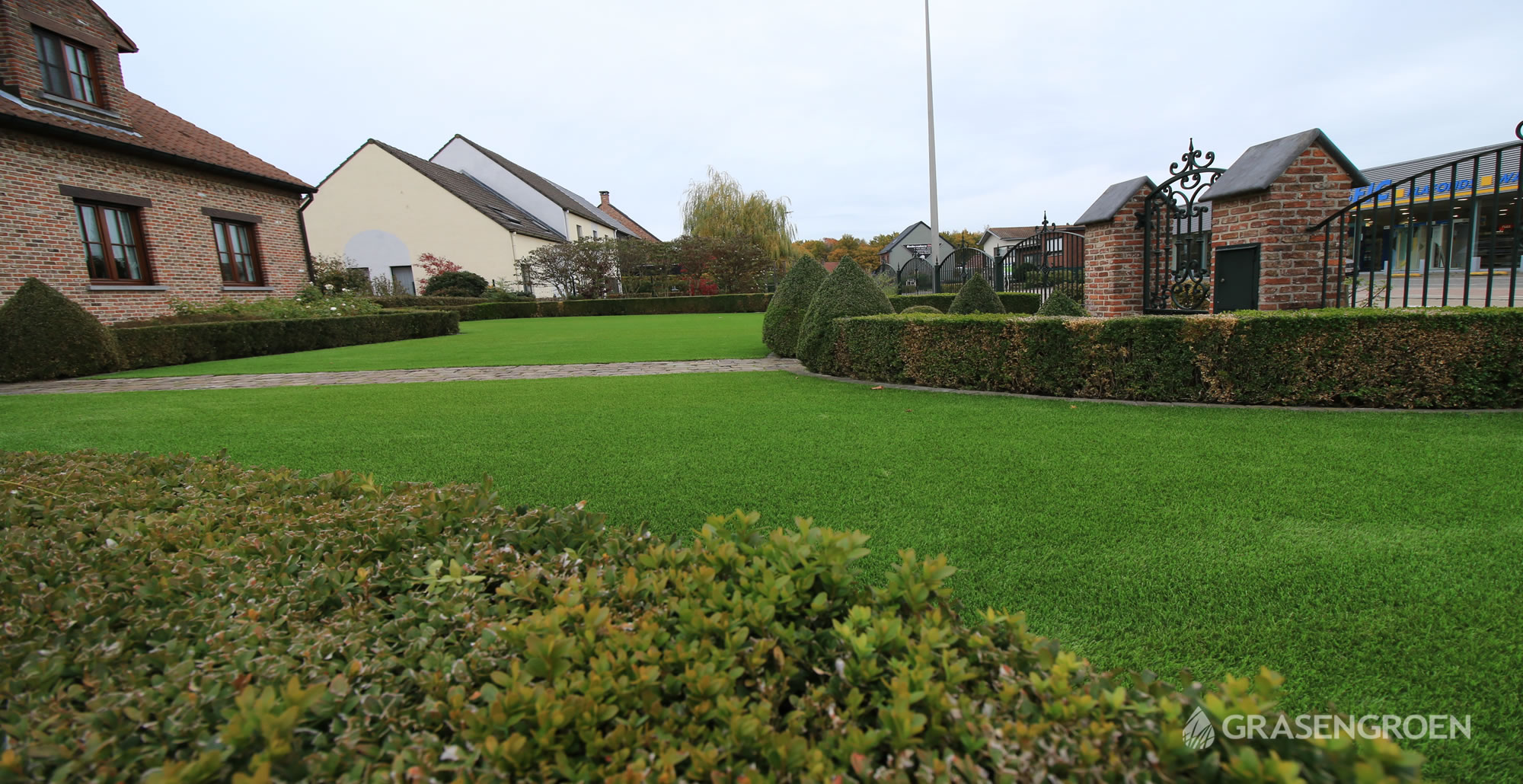 Kunstgrasleggenkermt18 • Gras en Groen Kunstgras