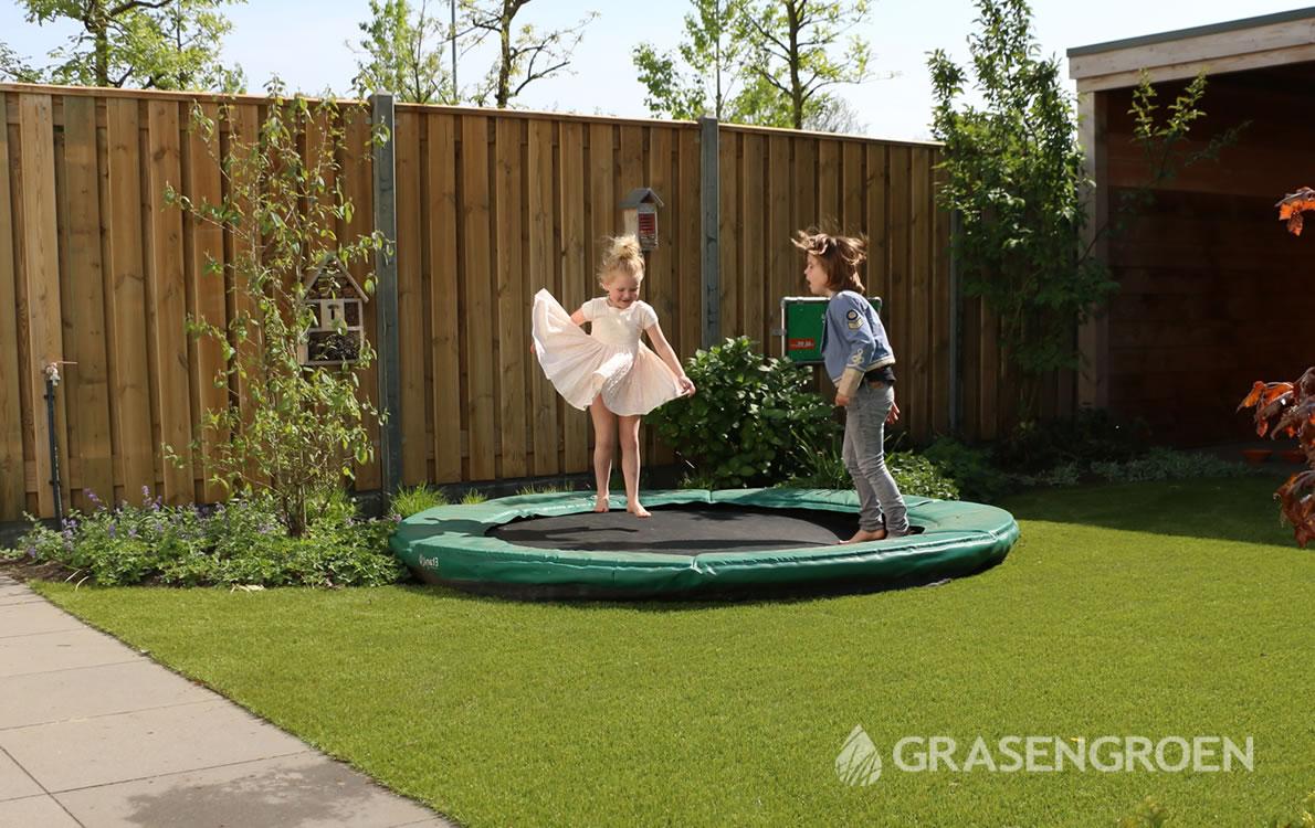 Kunstgrastuin1 • Gras en Groen Kunstgras