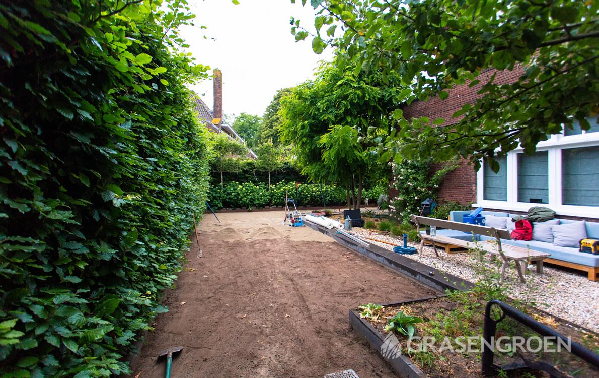 Kunstgrasleggenstap2 • Gras en Groen Kunstgras