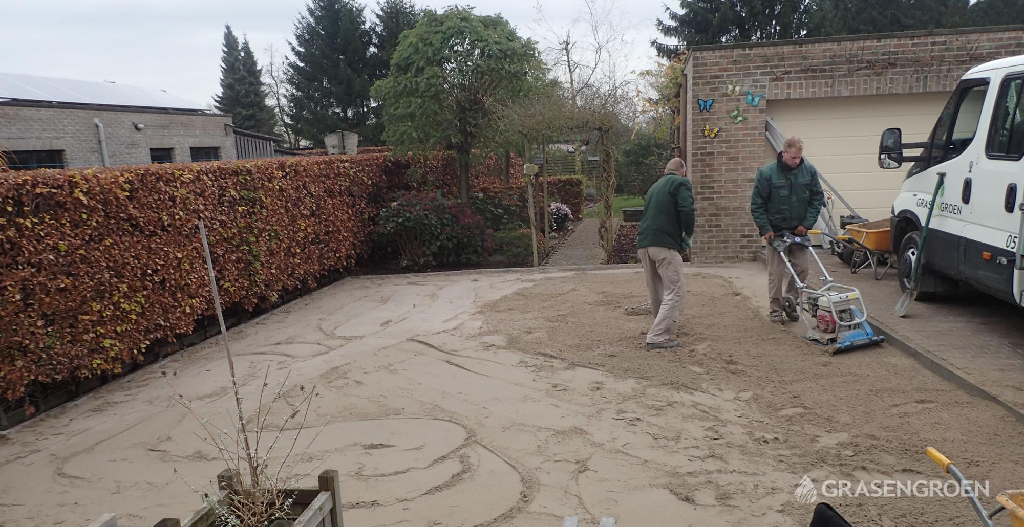 Kunstgrasleggennijlen13 • Gras en Groen Kunstgras