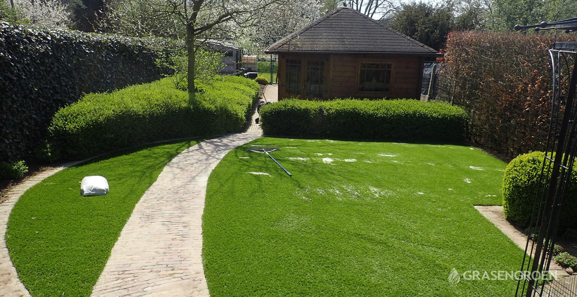 Kunstgrasleggenscherpenheuvel17 • Gras en Groen Kunstgras