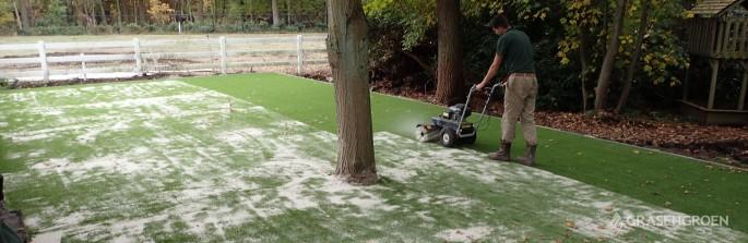 Kunstgrasleggenschoten1 • Gras en Groen Kunstgras