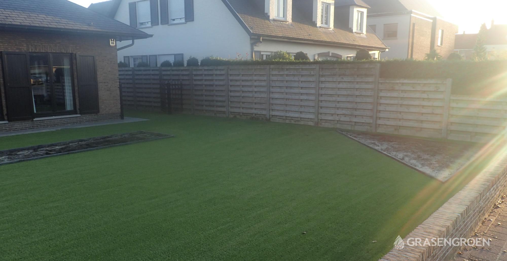 Kunstgrasleggenwuustwezel17 • Gras en Groen Kunstgras