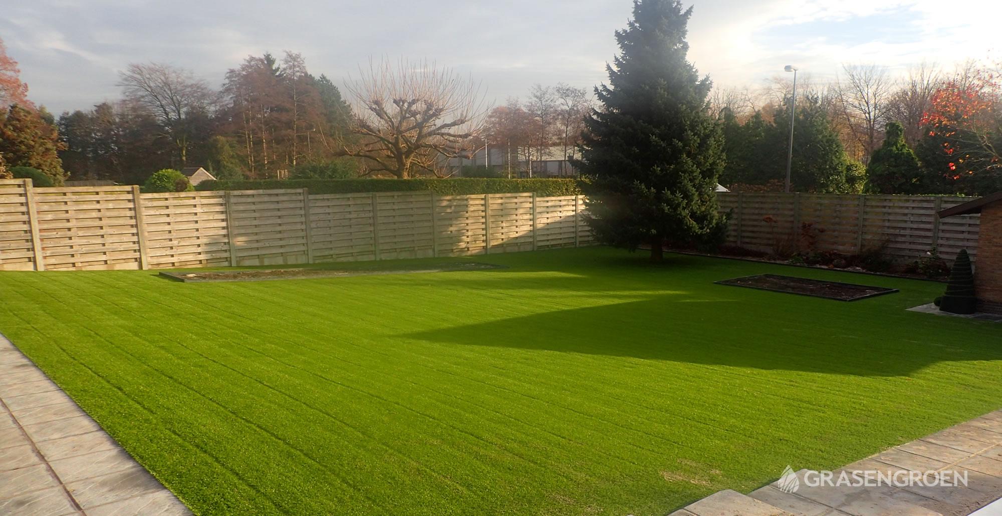 Kunstgrasleggenwuustwezel18 • Gras en Groen Kunstgras
