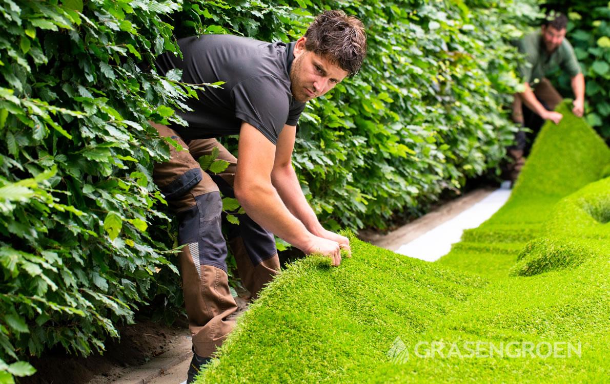 Kunstgrasinmeten1 • Gras en Groen Kunstgras