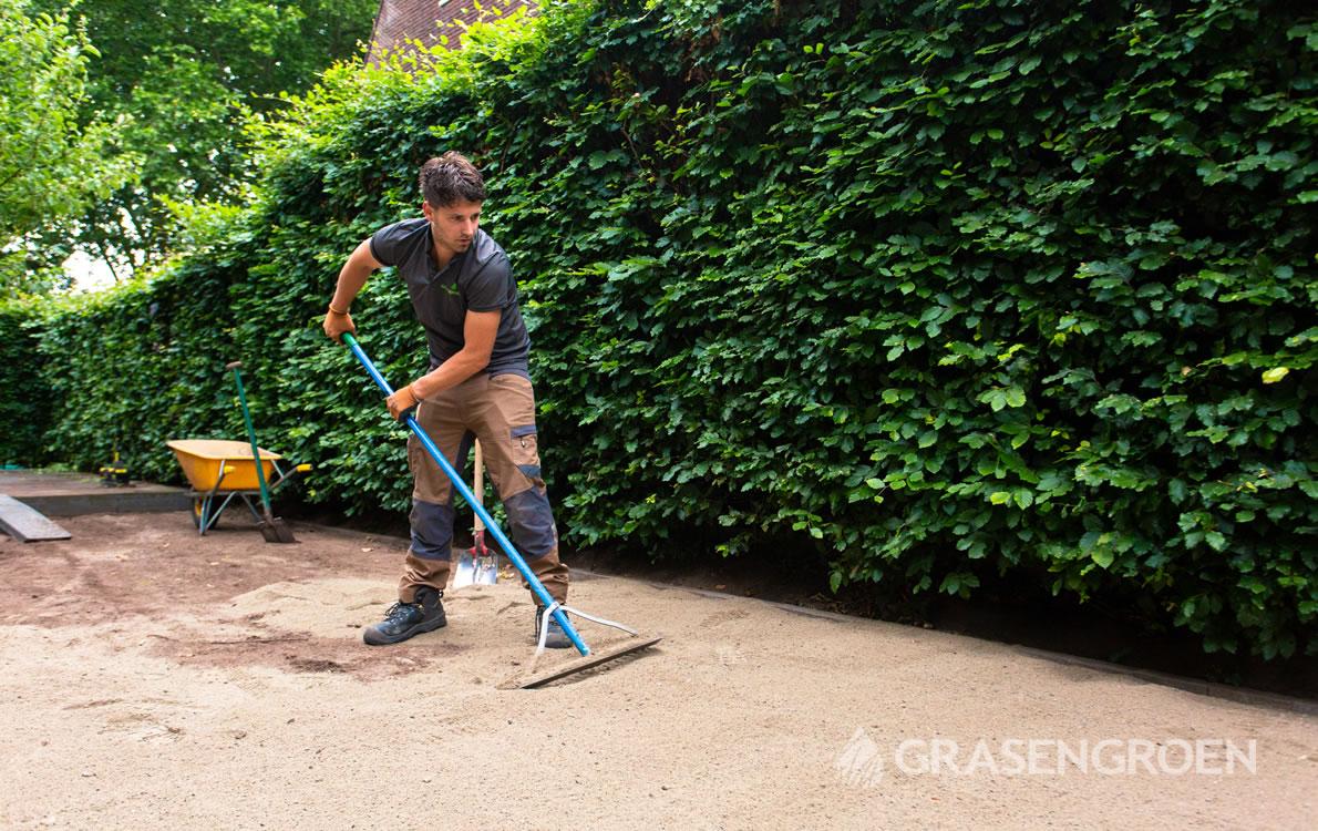 Kunstgrasondergrond2 • Gras en Groen Kunstgras