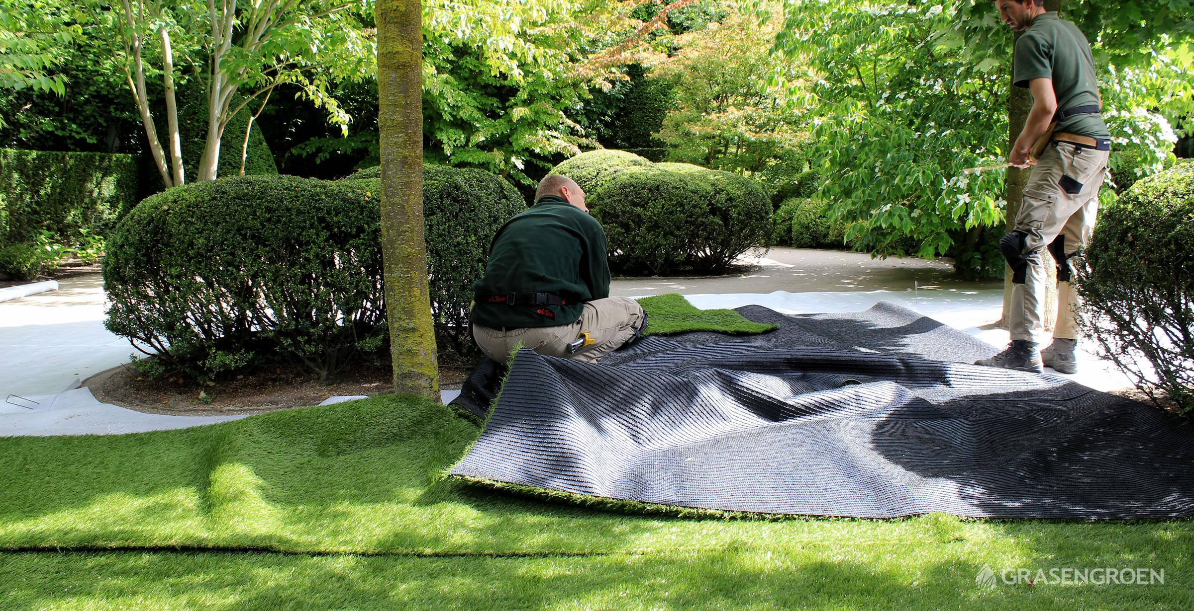 Kunstgrasleggenverlijmenslider0 • Gras en Groen Kunstgras