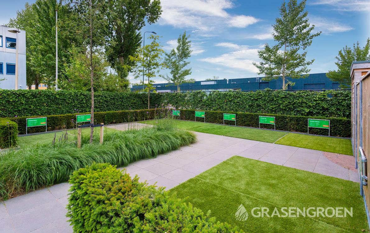 Showtuinkunstgras1 • Gras en Groen Kunstgras