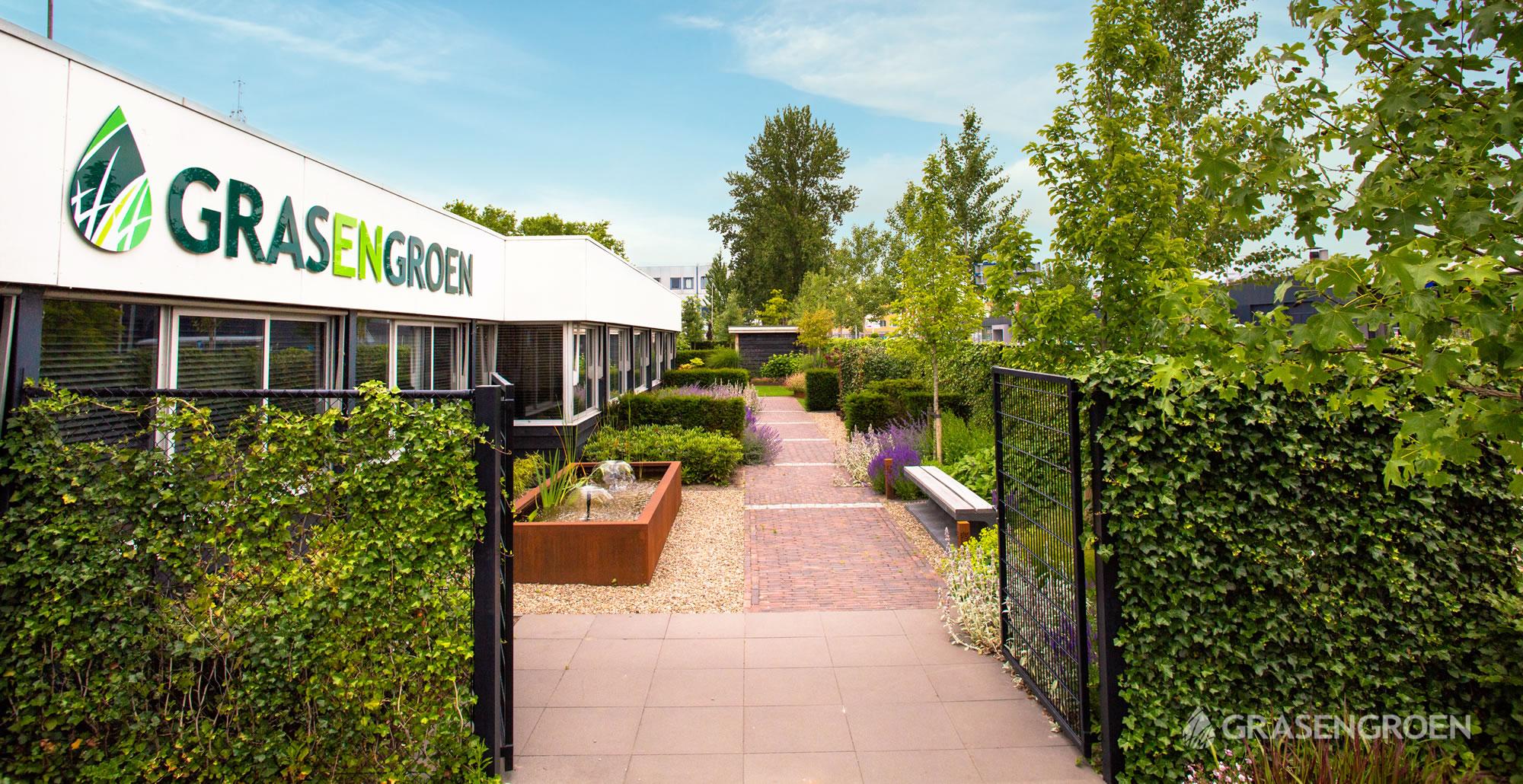 Showtuinkunstgrasslider1 • Gras en Groen Kunstgras