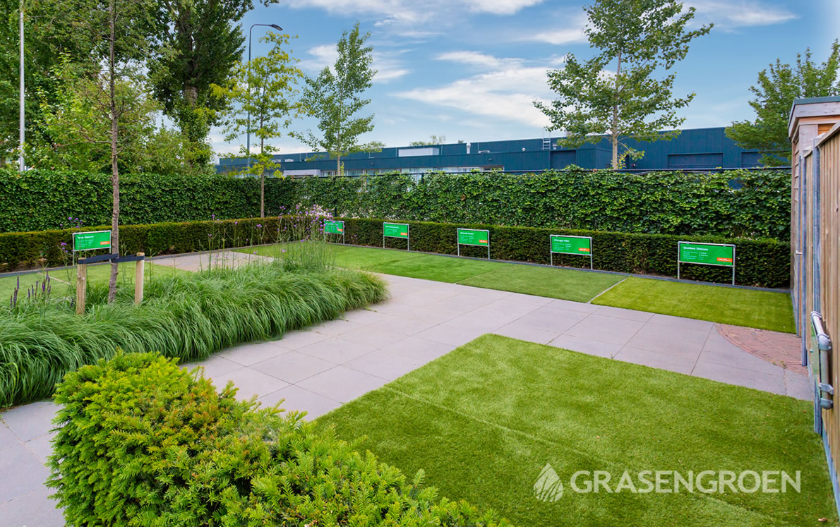 Kunstgrasshowtuindenbosch1 • Gras en Groen Kunstgras