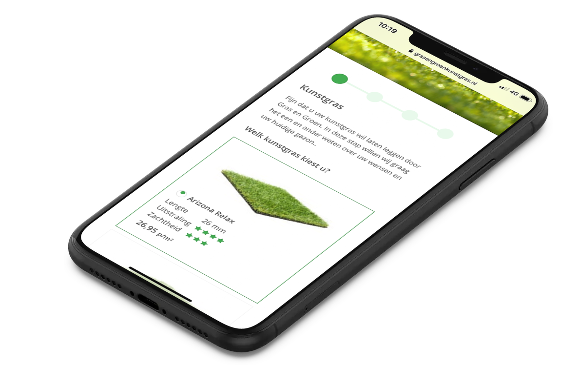 Kunstgraslatenleggengrasengroen1 • Gras en Groen Kunstgras